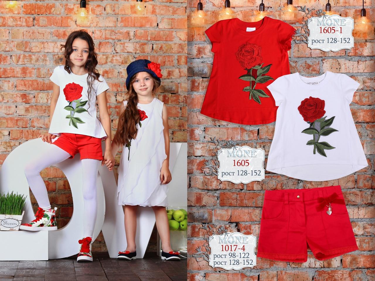 -Детская одежда ТМ МОНЕ, шорты для девочки р-р 116,122