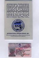 Международное водительское удостоверение для поездок за рубеж