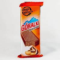 Вафельки Goralki арахисовые 50г Горалки, фото 1