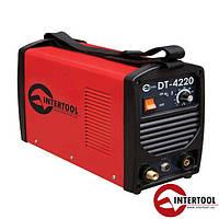 Инвертор cварочный для аргоно-дуговой сварки 230 В, 4.5 кВт, 10-200 А, (DT-4220)