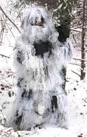 Маскировочный костюм для зимней охоты