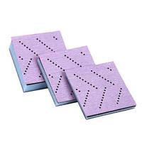3М™05699 - Набор мягких оправок с креплением Hookit™ для пурпурных абразивных рулонов, 70мм х 70мм, 3 шт.