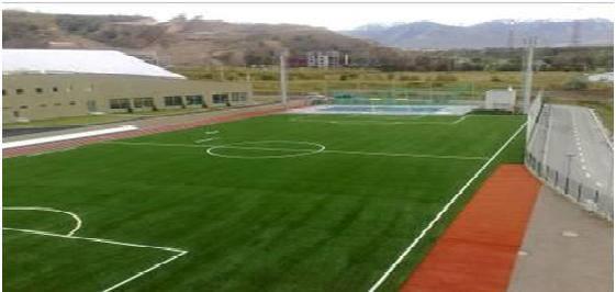 Строительство футбольных полей 2