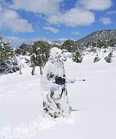 Маскировочный костюм для охотника на зиму