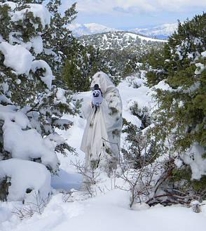 Маскировочный костюм для охотника на зиму, фото 2