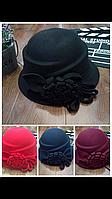 Шляпка Клош женская