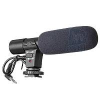 Профессиональный внешний стереомикрофон Alitek MIC-01 для камер.