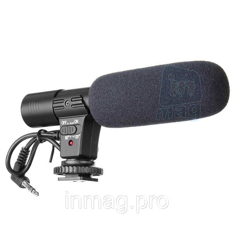Профессиональный внешний стереомикрофон MIC-01 для камер. УЦЕНКА!