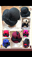 Шляпка Клош с бантом женская