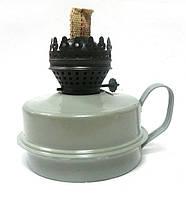 Лампа керосиновая без стекла железная