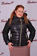 Куртка Наоми без меха SL-5055 (черный), фото 1
