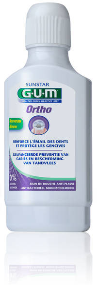 GUM® Ortho - средство для полоскания полости рта
