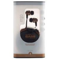 Наушники / гарнитура для телефона вакуумные Ergo ES-200i Bronze (закрытые, проводные 3.5 mm mini-jack, сопроти