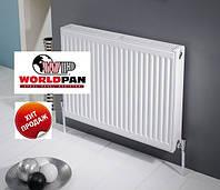 Стальной радиатор отопления тип 22, 500 на 1000 , WorldPan боковое подключение