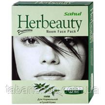 Маска Ниим для нормальной и сухой кожи, Neem Fase Pack Sahul for normal to dry skin, 100 гр
