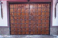 Гаражные ворота кованные 2700 грн.