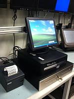 Сенсорний POS термінал HP Elo для кафе, ресторанів, магазинів (сенсорный POS терминал)