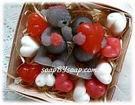 """Набор мыла """"Влюбленные мишки"""", фото 1"""