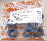 Сальник Stihl FS 55, FS 55C, FS 56, FS 38, оригинал (96390031230) для мотокос Штиль