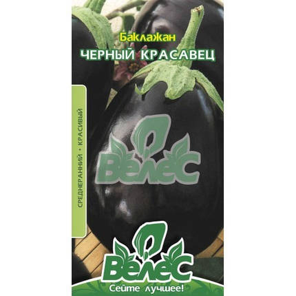 Баклажан Черный красавец 0,3г, фото 2