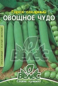 Семена гороха сахарного Овощное чудо 40г ТМ ВЕЛЕС