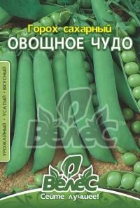 Горох сахарный Овощное чудо 40г, фото 2