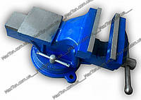 Тиски слесарные  стальные поворотные125 мм х 115мм HOUSETOOLS 07K212
