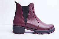 Ботинки из натуральной кожи №361-1, фото 1