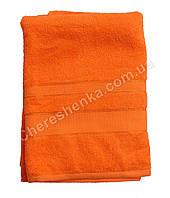 Махровое полотенце банное BG (140*70) Банное, 400.0, Узбекистан, 100, Оранжевый