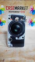 Силиконовый чехол бампер для Samsung i8260 i8262Galaxy Core с рисунком Фотоаппарат