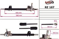 Рейка без Г/У восстановленная RENAULT 11 1986-1989,RENAULT 9 1986-1989   MSG - RE 107R
