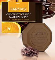 Натуральное мыло Шоколад с апельсином