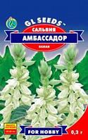 Семена Сальвия Амбассадор белая
