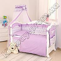 Детская постель Twins Premium P-030 Пташки