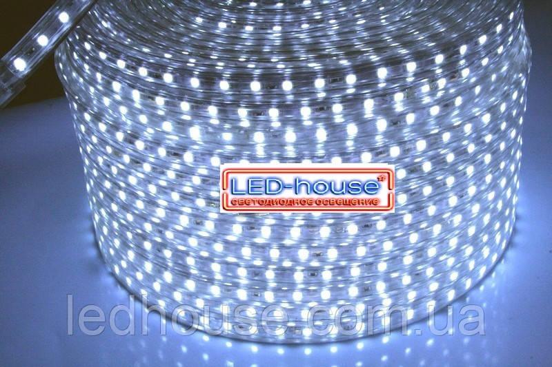 Светодиодная лента 5730-52 W 220В IP68 Белый