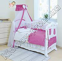 Детская постель Twins Comfort С-019 Горошки розовая