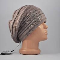 Берет-шапка «Оливия» какао