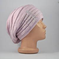 Берет-шапка «Оливия» лаванда
