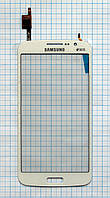 Тачскрин сенсорное стекло для Samsung G7102 Galaxy Grand 2 High Copy white