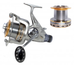 Катушка Fishing ROI Carp BT       5+1BB бейтраннер (зап.шпуля метал.