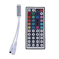 Контроллер (мини) с пультом ДУ для RGB-лент на светодиодах (LED)