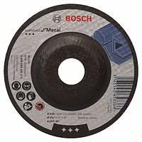 "Круг зачистной ""Bosch Standard"" по металлу 115х6.0х22.23мм SfM, чашка"