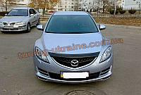 Дефлекторы капота Sim для Mazda 6 2007-12