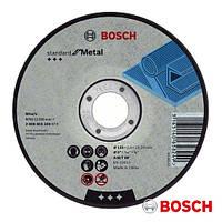 "✅ Круг отрезной ""Bosch Standard"" по металлу 125х1.6х22.23мм SfM, прямой"