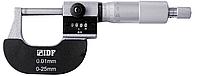 Микрометр гладкий 0-25 мм, с аналого-цифровой индикацией, цена деления  0.01 мм, IDF(Италия)