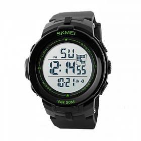 Часы Skmei DG1127 Black - Green