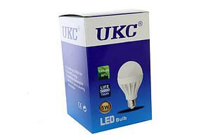 5шт Светодиодная LED лампочка UKC Light E27 5W/светодиодная лампочка, фото 2