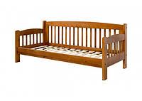 """Кровать """"Ретро-8"""" из массива ольхи (Темп)"""