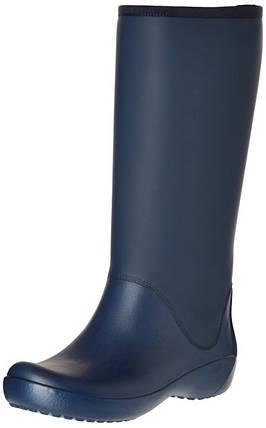 Женские резиновые сапоги Крокс Crocs Women's Rain Floe Tall Boot 37- 38, фото 2