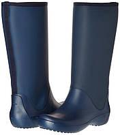 Женские резиновые сапоги Крокс Crocs Women's Rain Floe Tall Boot 37- 38
